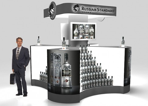 Shop-in-shop Russian Standard