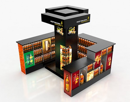 Shop-in-shop Johnnie Walker